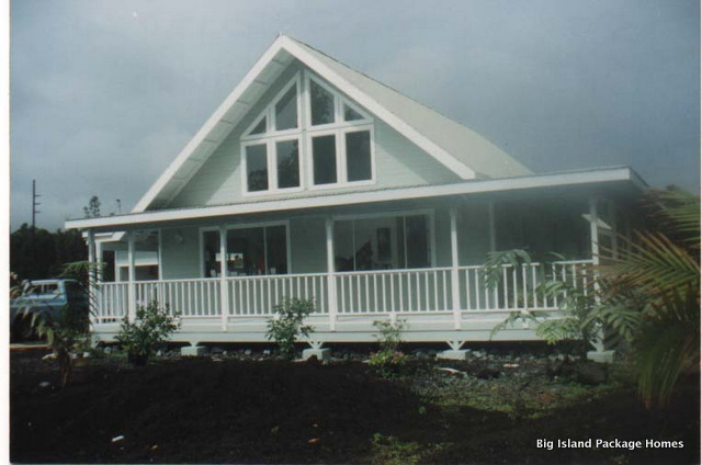 Photo gallery at big island package homes designs and for Hawaii home building packages