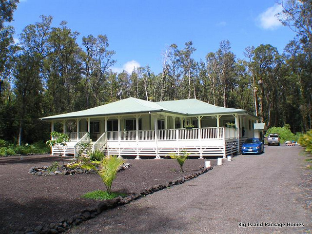 Merveilleux Big Island Package Homes Designs And Sells Owner Builder Kit Homes In Hawaii  Which Include Windows,doors, Lumber, Roofing, Plumbing And Cabinets.