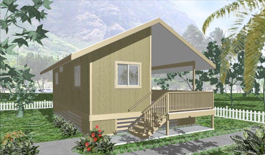 Model 500 design by big island package homes for Hawaii package homes