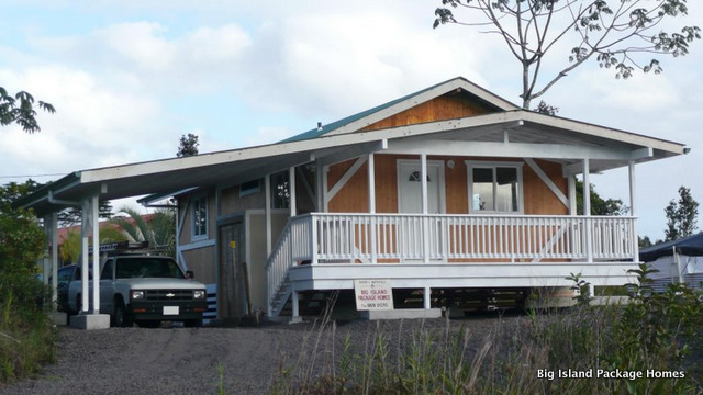 Hawaiian style kit homes